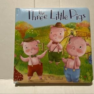 The Three Little Pigs by Nat Lambert Board Book
